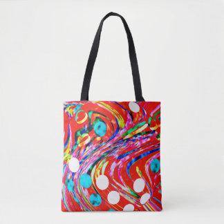 Festive chaos tote bag