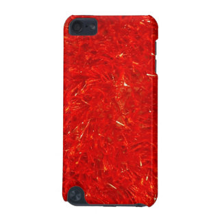 Festive Chic Bright Red Color Pattern iPod Touch (5th Generation) Case