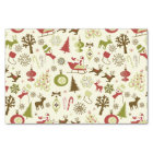 Festive Christmas Holiday Tissue Paper