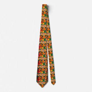 Festive Christmas Reindeer Tie