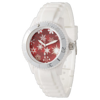 Festive Christmas snowflakes Watch