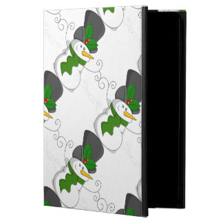Festive Christmas Snowman Cartoon Powis iPad Air 2 Case