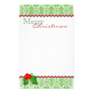 Festive Christmas Stationery