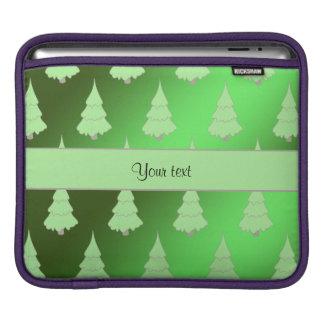 Festive Christmas Trees iPad Sleeves