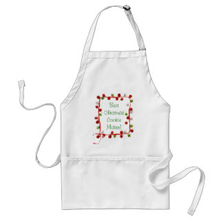 Festive Colorful Christmas Decor Ribbon Gifts Standard Apron