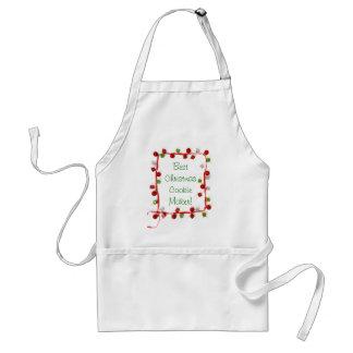 Festive Colorful Christmas Decor Ribbon Gifts Standard Apron