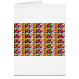 Festive colorful fruits background festivals gifts card