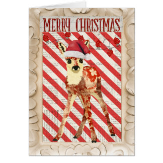 Festive Fawn Card