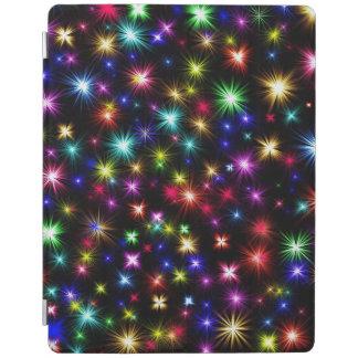 Festive fireworks colorful ipad cover