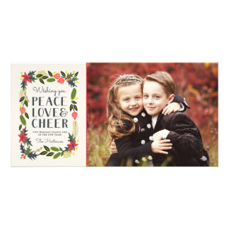Festive Frame Holiday Photo Card