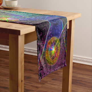 Festive Glow Short Table Runner