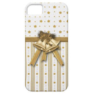 Festive Gold Stars iPhone 5 Covers