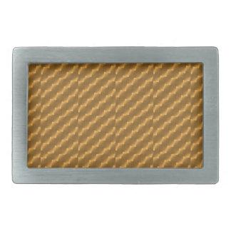 Festive, golden pattern belt buckle