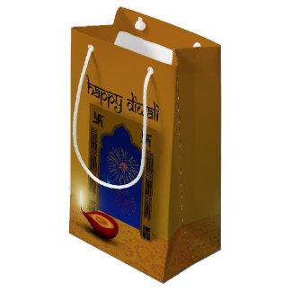 Festive Happy Diwali Fireworks - Small Gift Bag