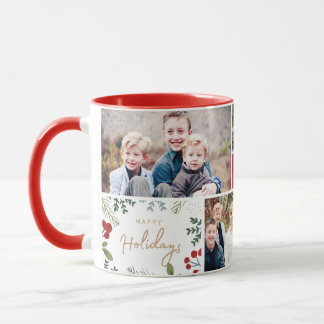 Festive Holiday 5 Photo Mug