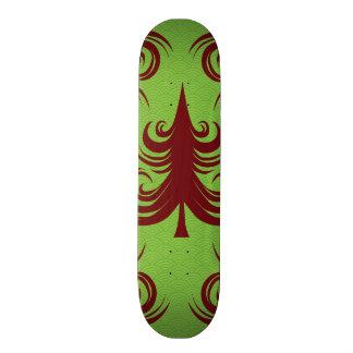 Festive Holiday Christmas Tree Xmas Design Skateboard