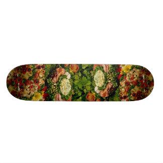 Festive holiday platters 21.6 cm old school skateboard deck