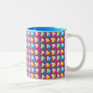Festive  : ICE Berg like shapes from Flower Petals Coffee Mug