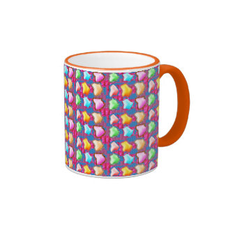 Festive  : ICE Berg like shapes from Flower Petals Coffee Mugs