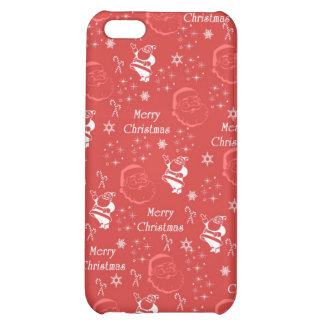 Festive Jolly Father Christmas iPhone 5C Case