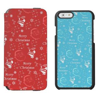 Festive Jolly Father Christmas Incipio Watson™ iPhone 6 Wallet Case