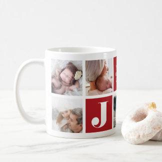 Festive Joy | Holiday Photo Collage Mug
