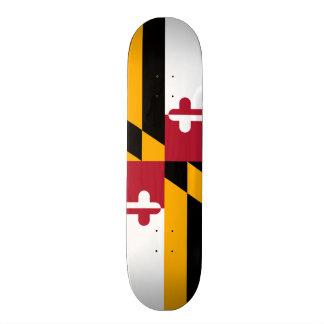 Festive Maryland State Flag Skate Board Deck