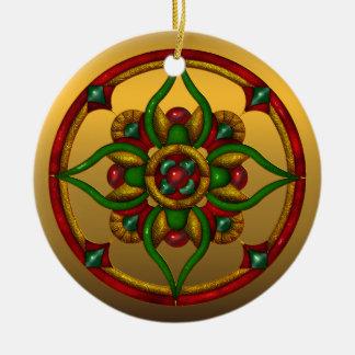 Festive Mississippi State Christmas Ornament