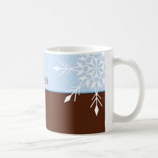 FESTIVE MUG :: magical snowflake 3