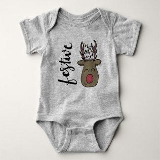 Festive Onsie Baby Bodysuit