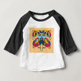 festive owl going to a party baby T-Shirt