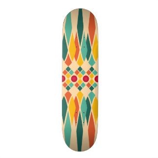 Festive pattern 19.7 cm skateboard deck