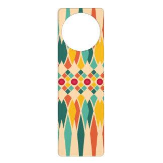 Festive pattern door hanger