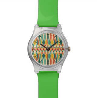 Festive pattern watch