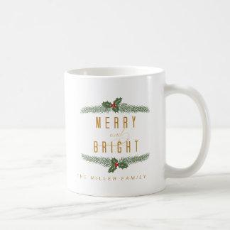 Festive, Pine and Berries Coffee Mug