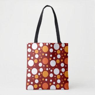 Festive Polka Dot Tote Bag