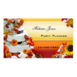 Festive Professional Party Planner Business Card