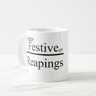 Festive Reapings logo mug