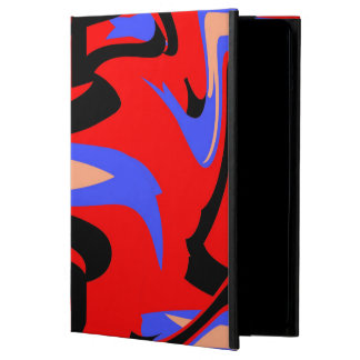 Festive Red Native Indian and Japanese Art Blend Cover For iPad Air