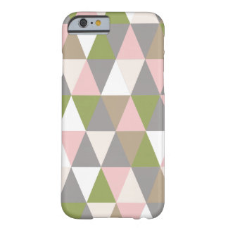 Festive Retro Geometric iPhone 6 Barely There iPhone 6 Case