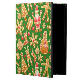 Festive Santa and Snowman Gingerbread Powis iPad Air 2 Case