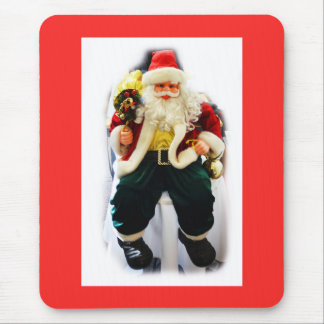 Festive Santa Mouse Pad