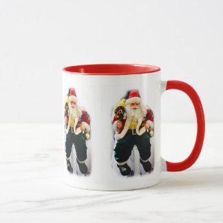 Festive Santas Mug