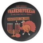Festive 'Thanksgivukkah' Plate