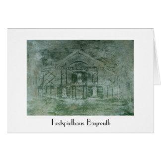 Festspielhaus Bayreuth Card