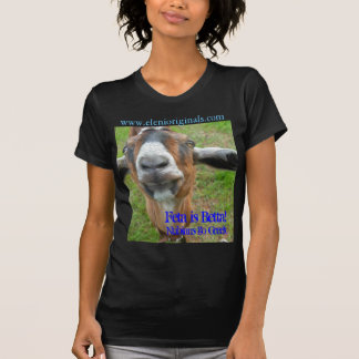 Feta is Betta!, Nubians go Greek T SHIRT
