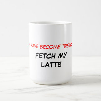 Fetch My Latte Mug