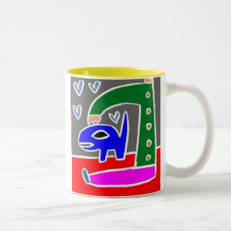 Fetch Two-Tone Coffee Mug