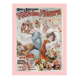 Fete de Fleurs Postcard