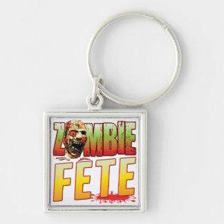 Fete Zombie Head Keychain